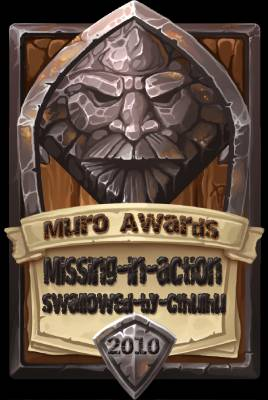 Missing-In-Action-Swallowed-by-Cthulhu Award 2010