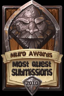 Most Quest Submissions 2010