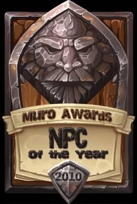 NPC of the Year 2010