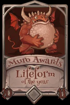 Lifeform of the Year 2011