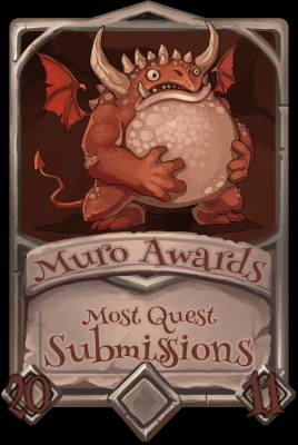 Most Quest Submissions 2011
