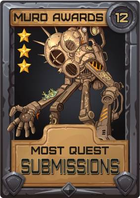 Most Quest Submissions 2012