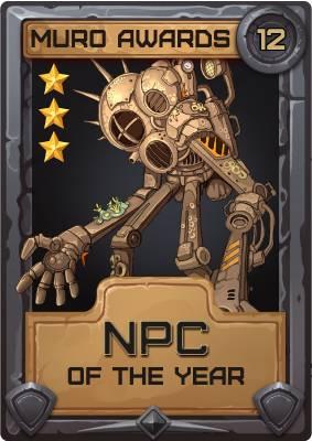NPC of the Year 2012