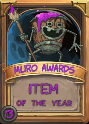 Item of the Year 2013