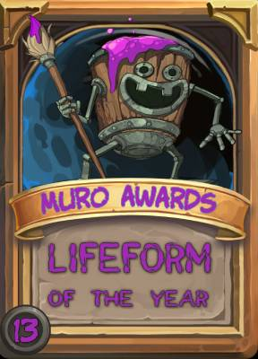 Lifeform of the Year 2013