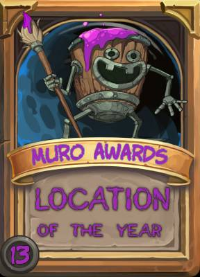 Location of the Year 2013
